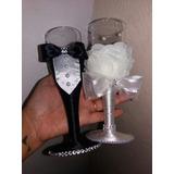 Taças Personalizadas Decoradas Noiva E Noivo (acrílico)