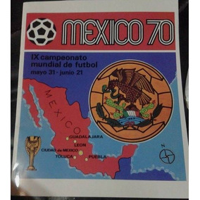 Album Copa Do Mundo Mexico 1970 Panini Impresso Mexico 70