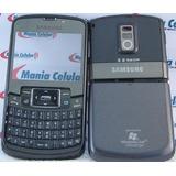 Painel Carcaça Samsung B7320 Omnia Pro Completa Preta
