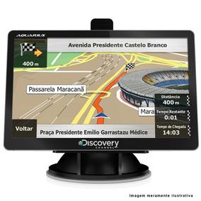 Gps Discovery Tela 4,3 Com Tv Digital Mp3 Mp4 Avisa Radar