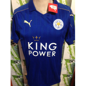 Jersey Puma 100%original Leicester City Inglaterra 2017local