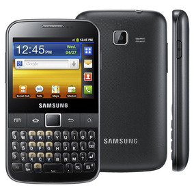 Samsung Galaxy Y Pro B5510 - Android 2.3, Wi-fi - Novo
