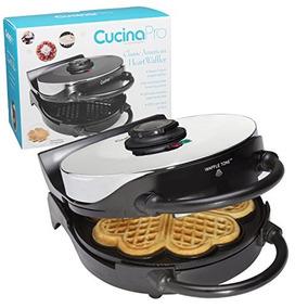 Wafflera Por Cucina Pro - Antiadherente 5-corazón Waffler C
