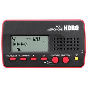Korg Ma-1 Bkrd - Metrônomo Digital + 1 Ano De Garantia