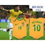 Body Time Futebol Infantil Copa Do Mundo Neymar