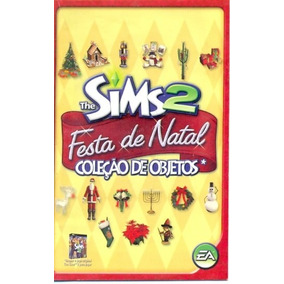 Somente Manual Original Em Portugues The Sims 2 Festa De Nat