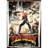 Flash Gordon ! Arte Casaro Afiche Cine Orig 1980 Doble N465