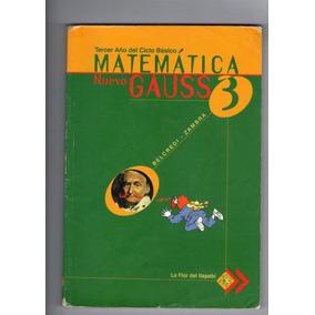 3er Año De Ciclo Basico Matematicas Nuevo Gauss