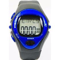 Relógio Com Sensor Medidor Pulso Caloria Frequência Cardíaca