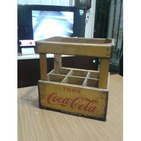 Cajon Antiguo Coca Cola M/buen Estado,pesado,solido,original