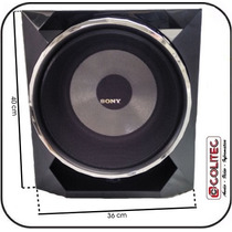 Caixa De Som Subwoofer 10 Sony Ss-wgp55 Mhc-gpx55 Lbt Sub