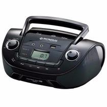 Som Portátil Boombox Mondial Rádio Fm Mp3 Link Usb