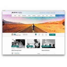 Site Para Igreja Responsivo Wordpress