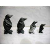 4 Adornos, Figuras , Pinguinos Hechas De Fino Marmol