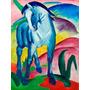 Lamina - Cabalo Azul - Franz Marc - 50 X 63 Cm.