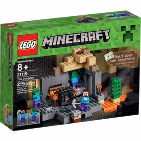 Lego Minecraft 21119 219 Piezas Mejor Precio!!