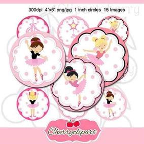 Kit Imprimible Bailarinas Imagenes Clipart Cod 15