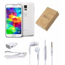 Samsung Galaxy S5 Blanco Liberado 16gb Meses Sin Intereses!!