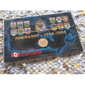 Moeda Comemorativa Canada - Nomandy 50 Anos (1944-1994)