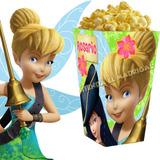 Kit Imprimible Campanita Candy Bar Tinkerbell Cotillon 2x1