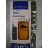 Walktalk Motorola Maritimo 9km Alcance 10 Canais 38 Codigos
