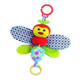 Muñeco Sonajero Colgante Mariposa Soft C/ Texturas Ok Baby