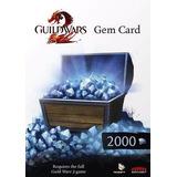 Guild Wars 2 2000 Gems Tarjeta Gemas Platinum Microcentro