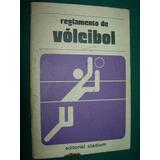 Libro Reglamento De Voleibol Editorial Stadium Deporte Voley