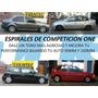 Juego De Espirales Competicion Fiat Palio Superbajos