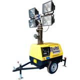 Torre De Iluminação E Gerador A Diesel 6.5 Kva