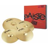 Kit De Prato Paiste 101 Brass Universal Set - Loja Oficial