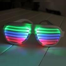 Óculos Led Hutz Ativado Por Som - Acabamento Branco
