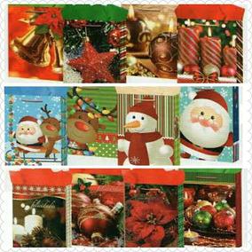 Lote Bolsa De Regalo Navideña Navidad Negocio Envio Gratis
