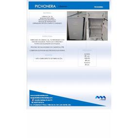 Gabinete Para Batería Solar Pichonera Punta Poste 2 Baterias