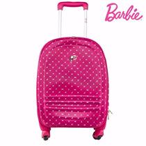 Mala Viagem Barbie 4 Rodas 360 -pequena/bordo-mf10060