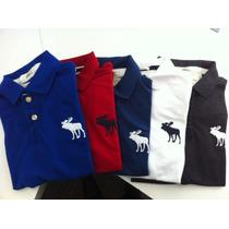 Camisa Camiseta Gola Polo Abercrombie Masculina Importada