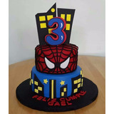 Tortas Decoradas Infantiles Spiderman