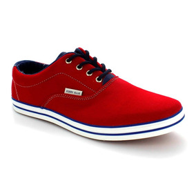 Zapato Perry Ellis Rojo Casual Caballero