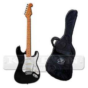 Guitarra Electica Sx Fst57 Stratocaster Mango Maple + Funda