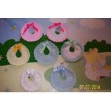 Souvenirs Mini Baberos Tejidos Al Crochet