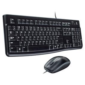 Teclado + Mouse Logitech Mk120