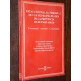 Estatuto Para El Personal De Las Municipalidades 1998