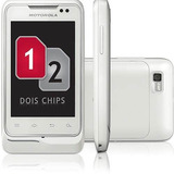 Motorola Motosmart Me Xt305 -dual Chip, Android - De Vitrine