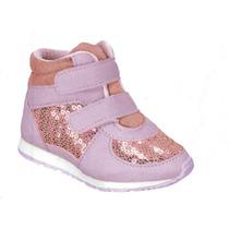 Tênis Sneaker Infantil Feminino Pinókio 51.04-930 Rosa/lilás