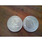 Moneda Antigua De N$5 Uruguaya Del Año 1981