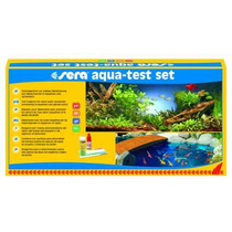 Sera Kit Teste Aqua Test Set Aquarios Agua Doce Ph Kh Gh No2