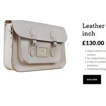 Cartera Bolson 100% Cuero The Leather Satchel Company Uk