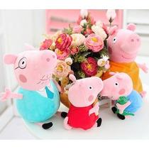 Familia Peppa Pig Peluche Lote De 4 Piezas Envio Gratis