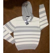 Suéter/malha/blusa De Frio Masculina Com Capuz Colombo
