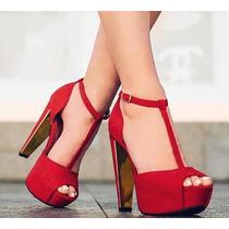 Sandalias Plataformas Mujer Moda Zapatillas Calzado Dama